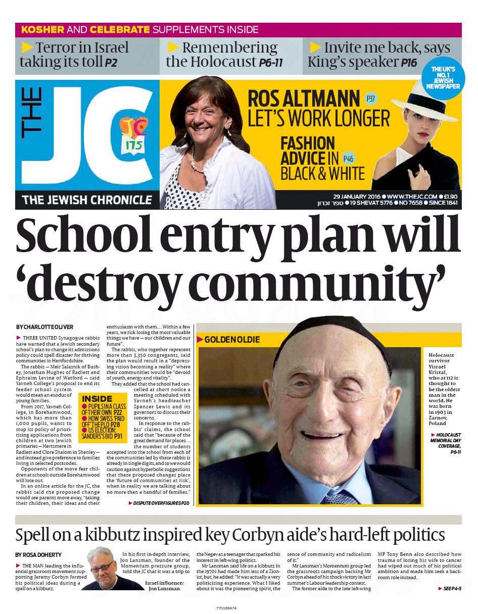 Jewish Chronicle 1
