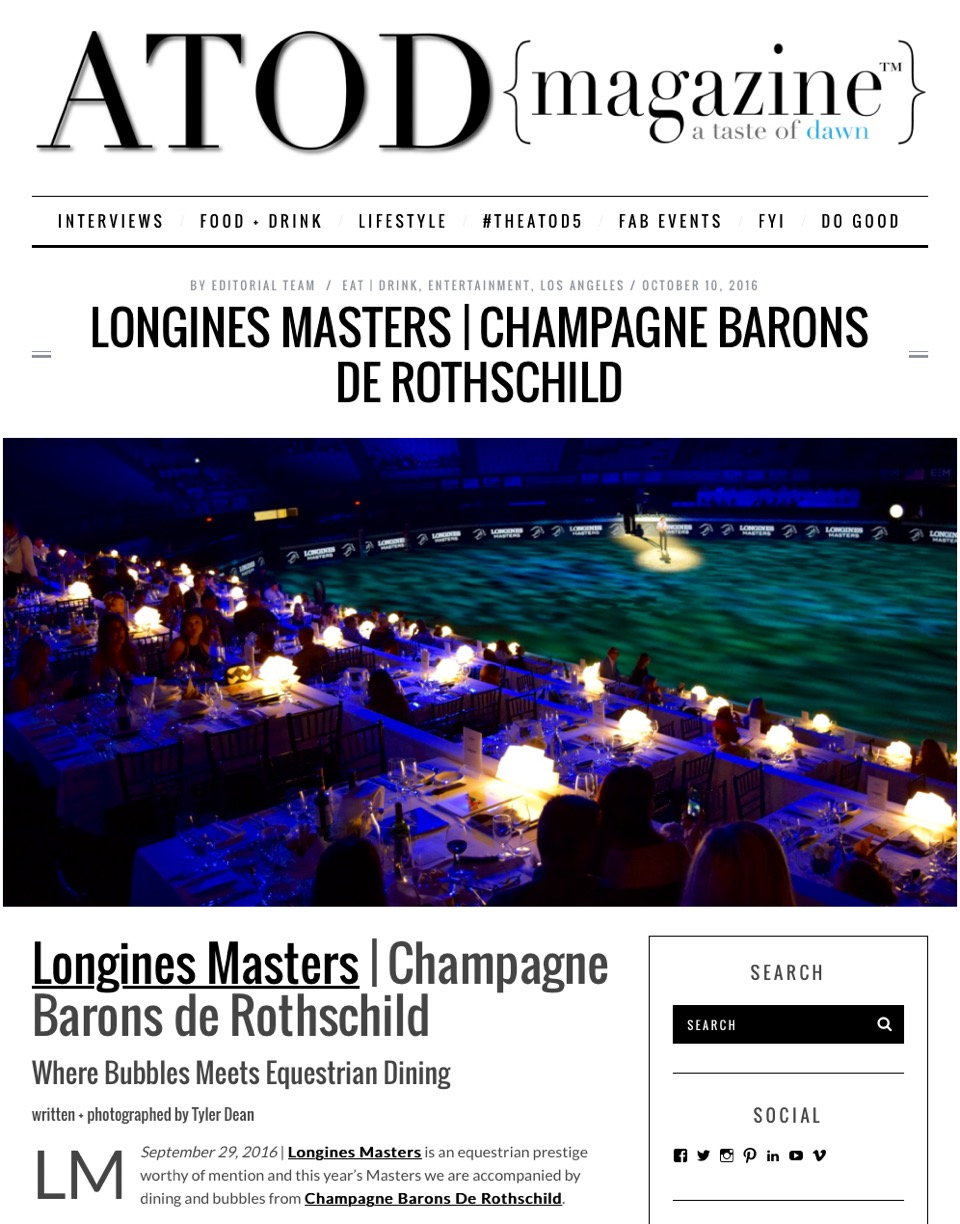 Longines Champagne Barons de Rothschild 1