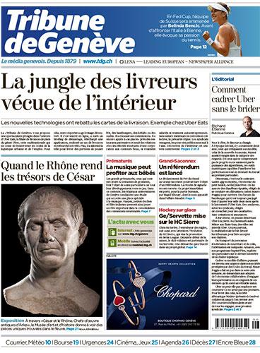 Tribune de Genève 1